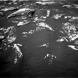 Nasa's Mars rover Curiosity acquired this image using its Left Navigation Camera on Sol 1747, at drive 1932, site number 64