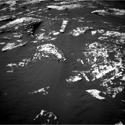 Nasa's Mars rover Curiosity acquired this image using its Right Navigation Camera on Sol 1747, at drive 1944, site number 64
