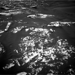 Nasa's Mars rover Curiosity acquired this image using its Right Navigation Camera on Sol 1747, at drive 1956, site number 64