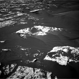 Nasa's Mars rover Curiosity acquired this image using its Right Navigation Camera on Sol 1747, at drive 1974, site number 64