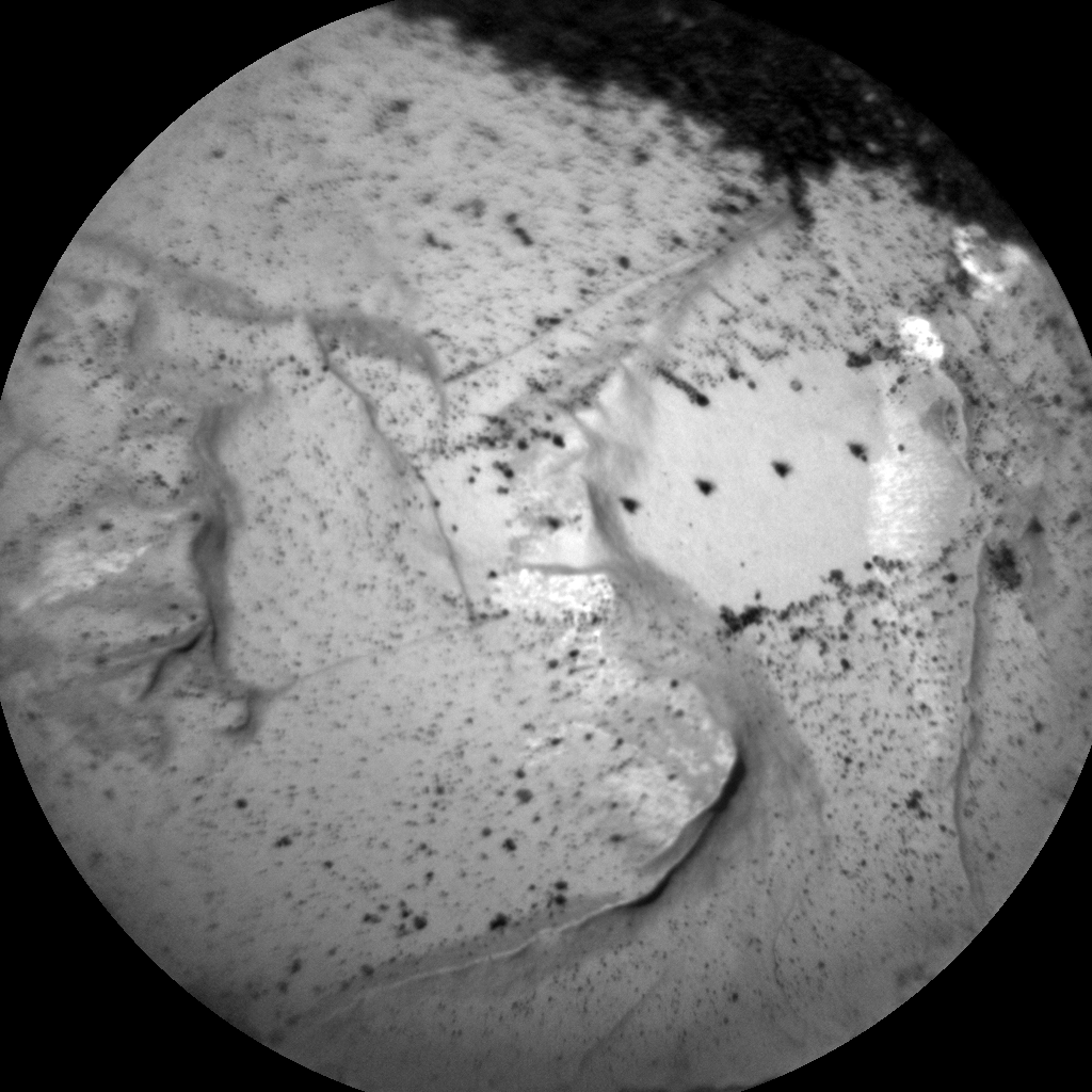 Nasa's Mars rover Curiosity acquired this image using its Chemistry & Camera (ChemCam) on Sol 1747, at drive 1890, site number 64