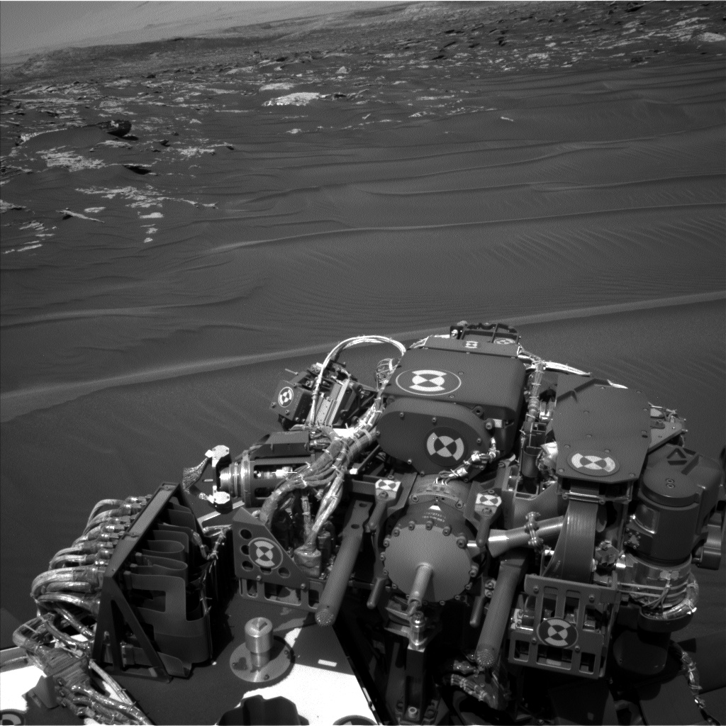 Nasa's Mars rover Curiosity acquired this image using its Left Navigation Camera on Sol 1748, at drive 2088, site number 64