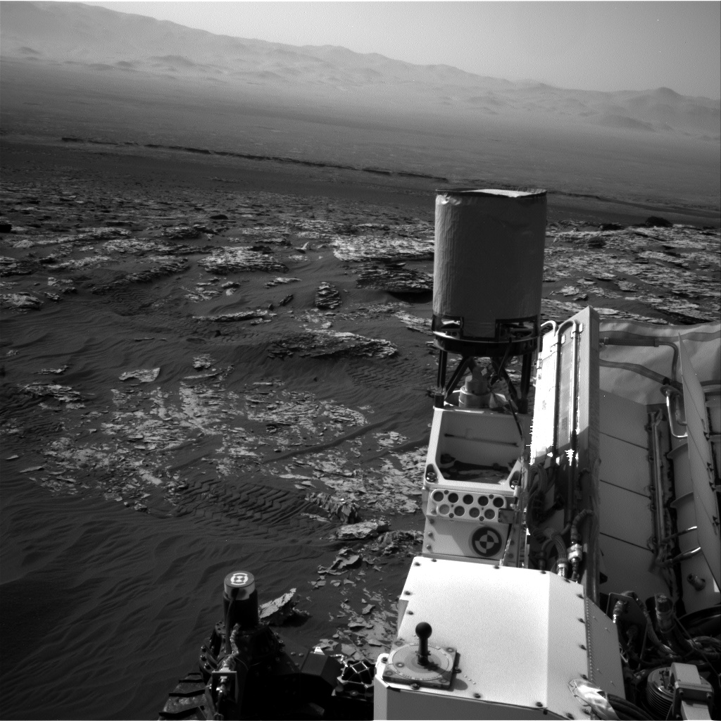 Nasa's Mars rover Curiosity acquired this image using its Right Navigation Camera on Sol 1748, at drive 2088, site number 64