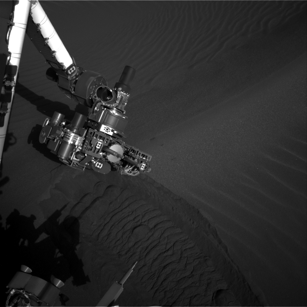 Nasa's Mars rover Curiosity acquired this image using its Right Navigation Camera on Sol 1749, at drive 2088, site number 64