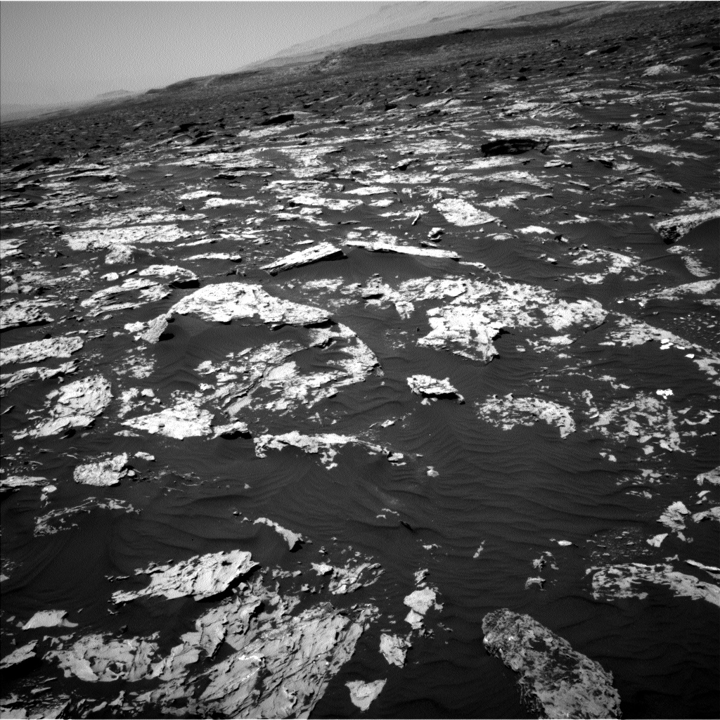 Nasa's Mars rover Curiosity acquired this image using its Left Navigation Camera on Sol 1751, at drive 2154, site number 64