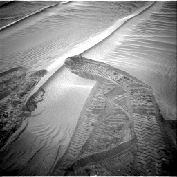 Nasa's Mars rover Curiosity acquired this image using its Right Navigation Camera on Sol 1751, at drive 2112, site number 64