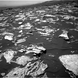 Nasa's Mars rover Curiosity acquired this image using its Right Navigation Camera on Sol 1751, at drive 2136, site number 64