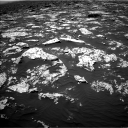 Nasa's Mars rover Curiosity acquired this image using its Left Navigation Camera on Sol 1752, at drive 2160, site number 64