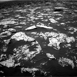 NASA's Mars rover Curiosity acquired this image using its Left Navigation Camera (Navcams) on Sol 1752