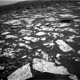 Nasa's Mars rover Curiosity acquired this image using its Left Navigation Camera on Sol 1752, at drive 2190, site number 64