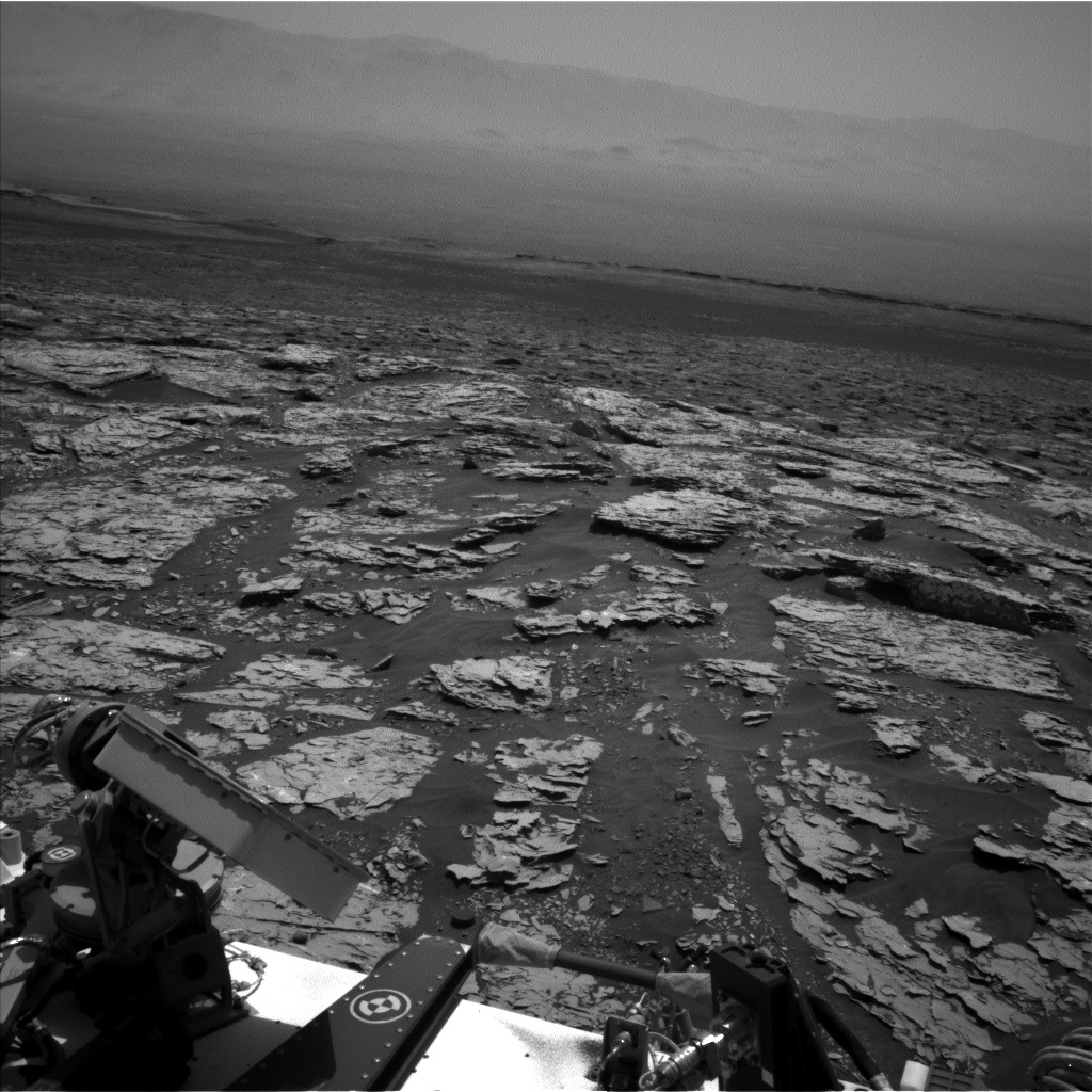 Nasa's Mars rover Curiosity acquired this image using its Left Navigation Camera on Sol 1752, at drive 2238, site number 64