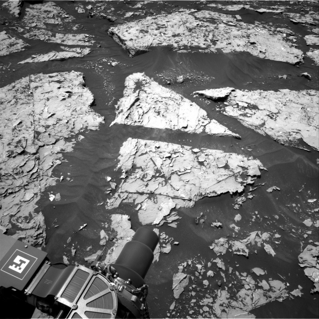 Nasa's Mars rover Curiosity acquired this image using its Right Navigation Camera on Sol 1752, at drive 2238, site number 64