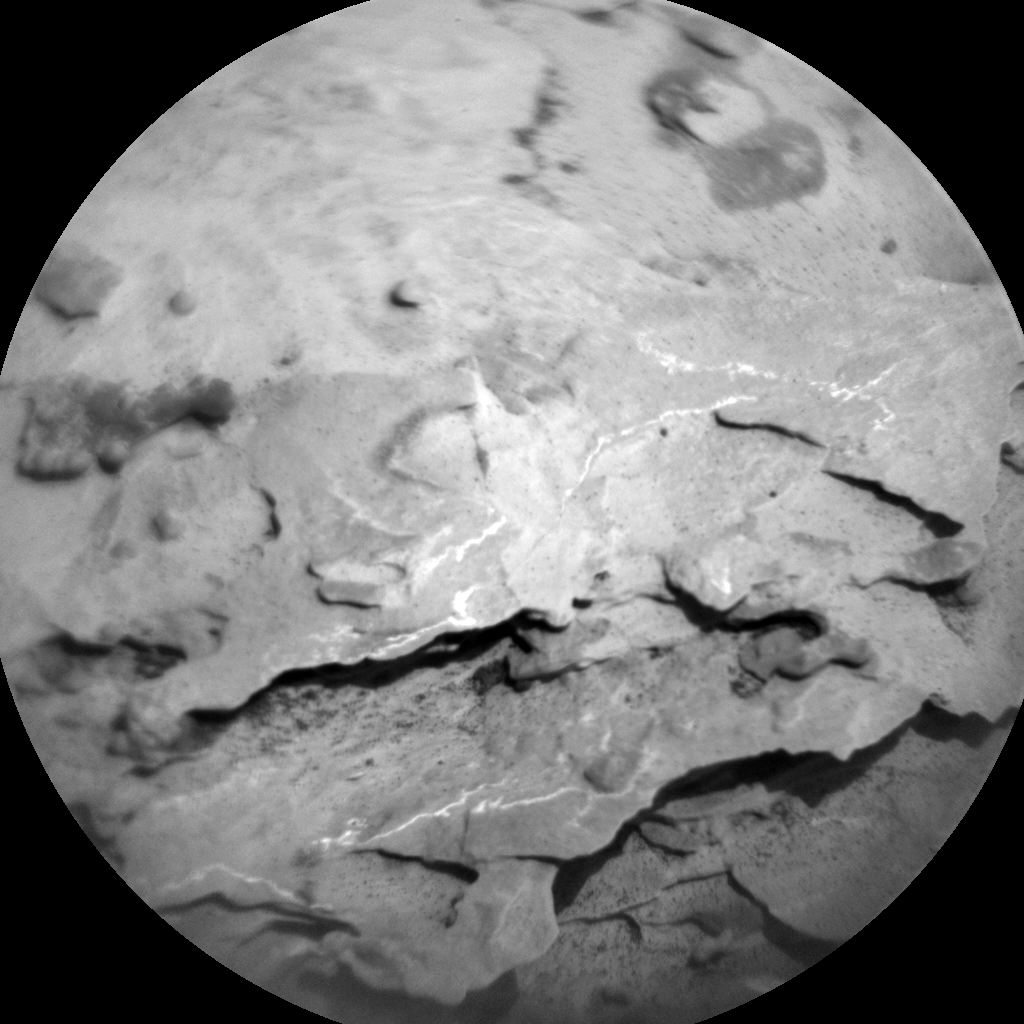 Nasa's Mars rover Curiosity acquired this image using its Chemistry & Camera (ChemCam) on Sol 1752, at drive 2238, site number 64