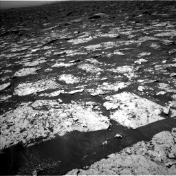 Nasa's Mars rover Curiosity acquired this image using its Left Navigation Camera on Sol 1753, at drive 2244, site number 64