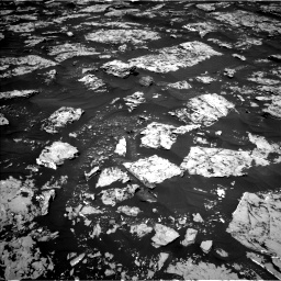 Nasa's Mars rover Curiosity acquired this image using its Left Navigation Camera on Sol 1753, at drive 2280, site number 64