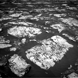 Nasa's Mars rover Curiosity acquired this image using its Left Navigation Camera on Sol 1753, at drive 2304, site number 64