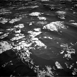 Nasa's Mars rover Curiosity acquired this image using its Left Navigation Camera on Sol 1753, at drive 2364, site number 64