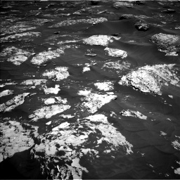 Nasa's Mars rover Curiosity acquired this image using its Left Navigation Camera on Sol 1753, at drive 2370, site number 64