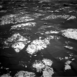 Nasa's Mars rover Curiosity acquired this image using its Left Navigation Camera on Sol 1753, at drive 2394, site number 64