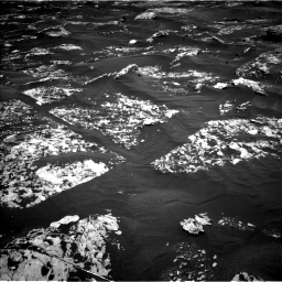 Nasa's Mars rover Curiosity acquired this image using its Left Navigation Camera on Sol 1753, at drive 2418, site number 64