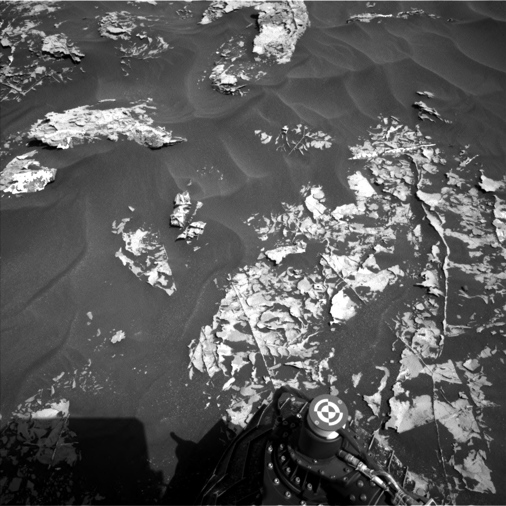 Nasa's Mars rover Curiosity acquired this image using its Left Navigation Camera on Sol 1753, at drive 2442, site number 64