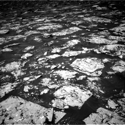 Nasa's Mars rover Curiosity acquired this image using its Right Navigation Camera on Sol 1753, at drive 2268, site number 64