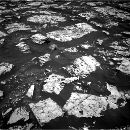 Nasa's Mars rover Curiosity acquired this image using its Right Navigation Camera on Sol 1753, at drive 2286, site number 64