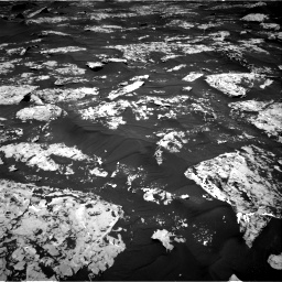 Nasa's Mars rover Curiosity acquired this image using its Right Navigation Camera on Sol 1753, at drive 2322, site number 64