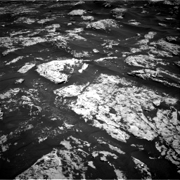 Nasa's Mars rover Curiosity acquired this image using its Right Navigation Camera on Sol 1753, at drive 2340, site number 64