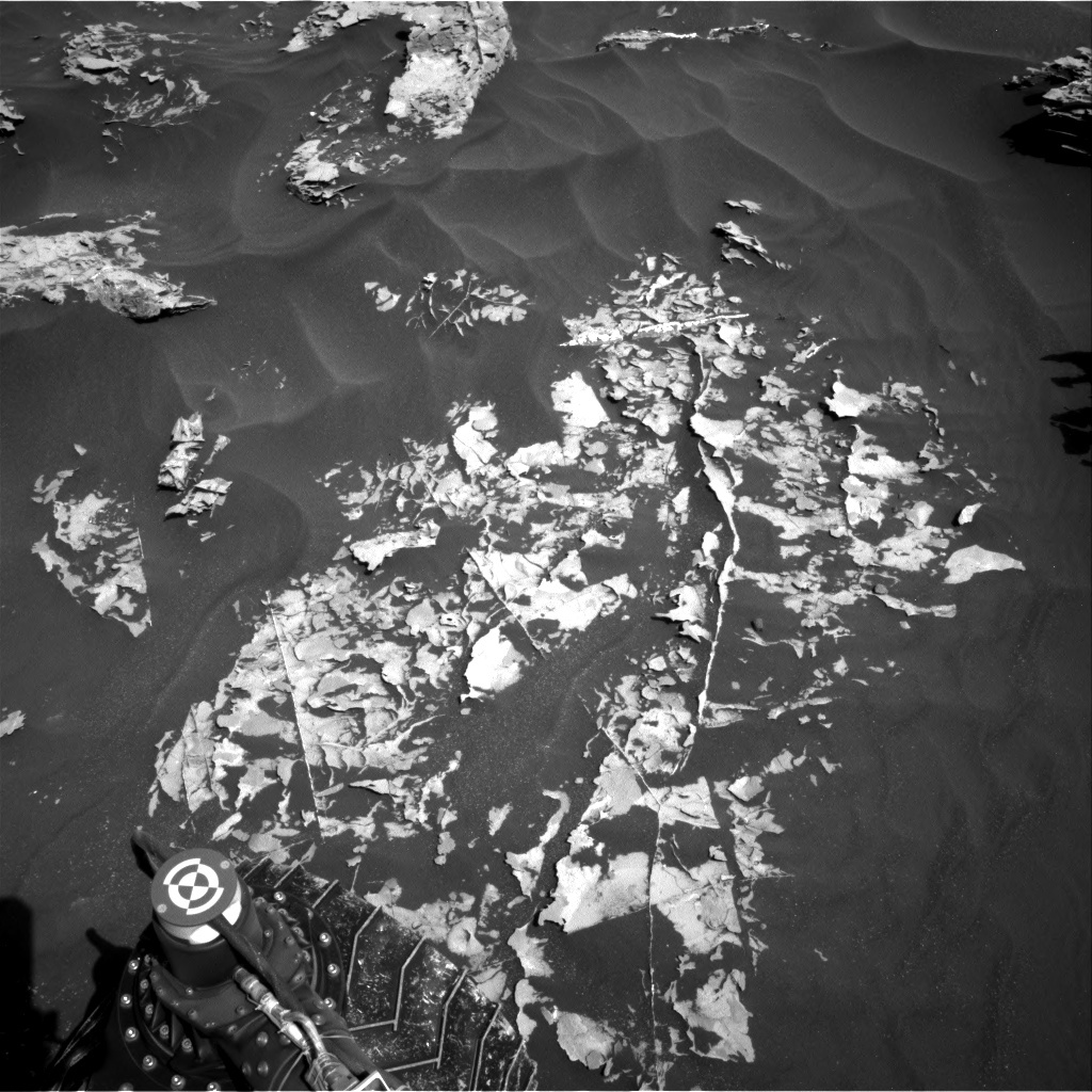 NASA's Mars rover Curiosity acquired this image using its Right Navigation Cameras (Navcams) on Sol 1753