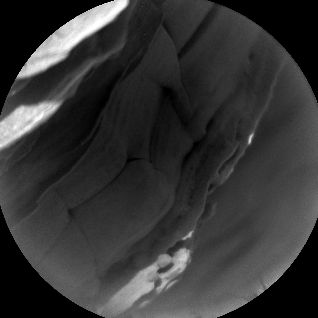 Nasa's Mars rover Curiosity acquired this image using its Chemistry & Camera (ChemCam) on Sol 1753, at drive 2238, site number 64