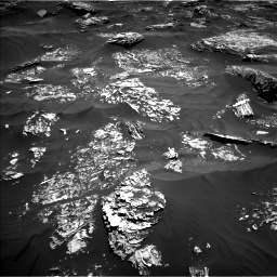 Nasa's Mars rover Curiosity acquired this image using its Left Navigation Camera on Sol 1754, at drive 2496, site number 64