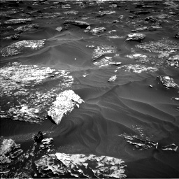 Nasa's Mars rover Curiosity acquired this image using its Left Navigation Camera on Sol 1754, at drive 2532, site number 64
