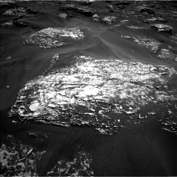 Nasa's Mars rover Curiosity acquired this image using its Left Navigation Camera on Sol 1754, at drive 2562, site number 64