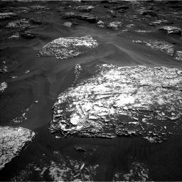 Nasa's Mars rover Curiosity acquired this image using its Left Navigation Camera on Sol 1754, at drive 2568, site number 64