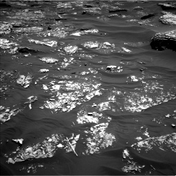 Nasa's Mars rover Curiosity acquired this image using its Left Navigation Camera on Sol 1754, at drive 2754, site number 64