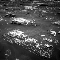 Nasa's Mars rover Curiosity acquired this image using its Right Navigation Camera on Sol 1754, at drive 2466, site number 64