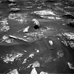 Nasa's Mars rover Curiosity acquired this image using its Right Navigation Camera on Sol 1754, at drive 2484, site number 64