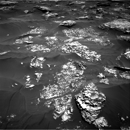Nasa's Mars rover Curiosity acquired this image using its Right Navigation Camera on Sol 1754, at drive 2502, site number 64