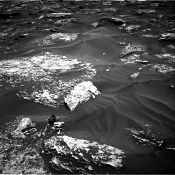 Nasa's Mars rover Curiosity acquired this image using its Right Navigation Camera on Sol 1754, at drive 2526, site number 64