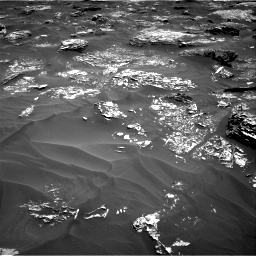 Nasa's Mars rover Curiosity acquired this image using its Right Navigation Camera on Sol 1754, at drive 2538, site number 64