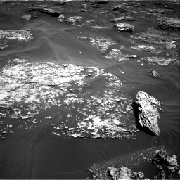 NASA's Mars rover Curiosity acquired this image using its Right Navigation Cameras (Navcams) on Sol 1754