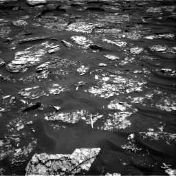 Nasa's Mars rover Curiosity acquired this image using its Right Navigation Camera on Sol 1754, at drive 2736, site number 64