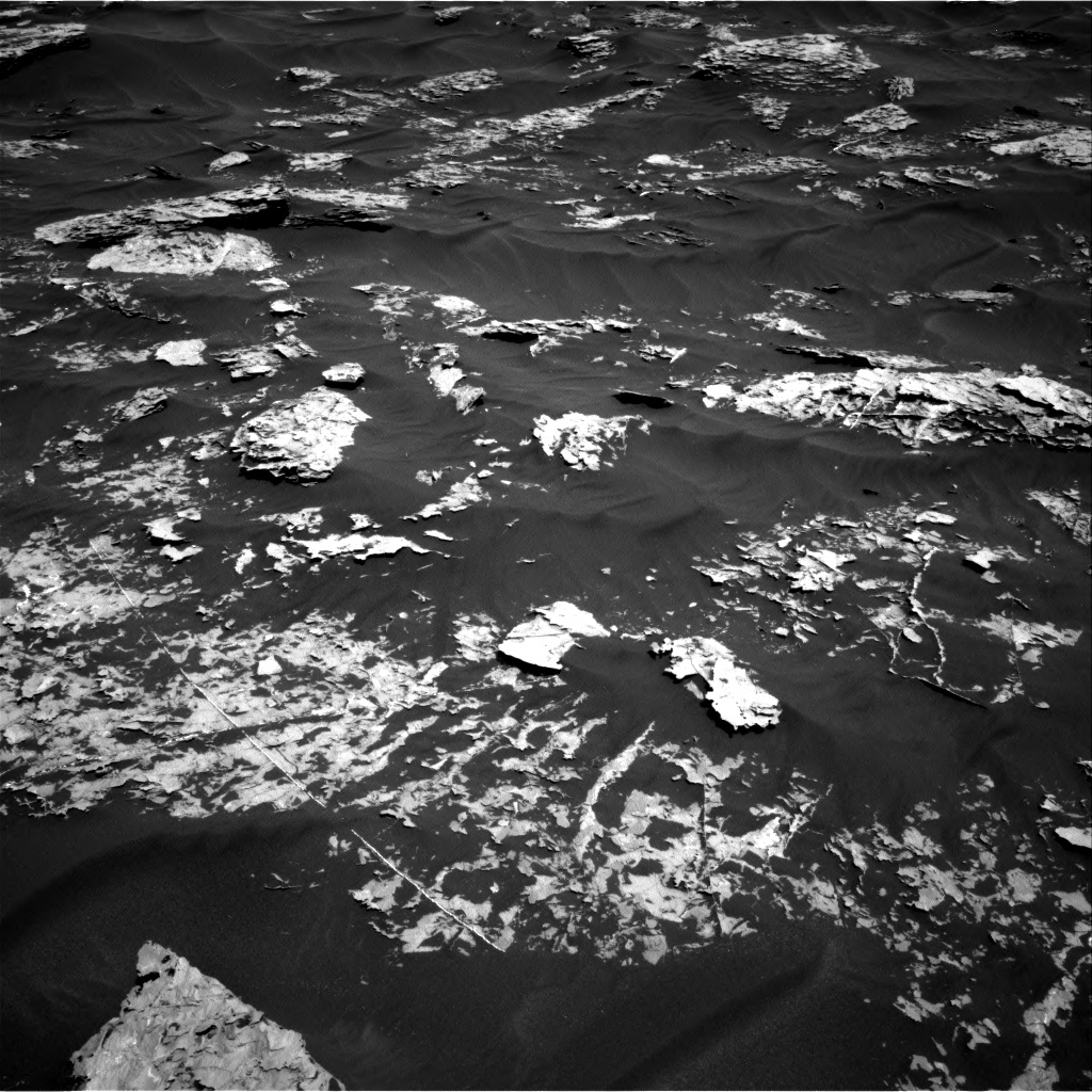 Nasa's Mars rover Curiosity acquired this image using its Right Navigation Camera on Sol 1754, at drive 2748, site number 64
