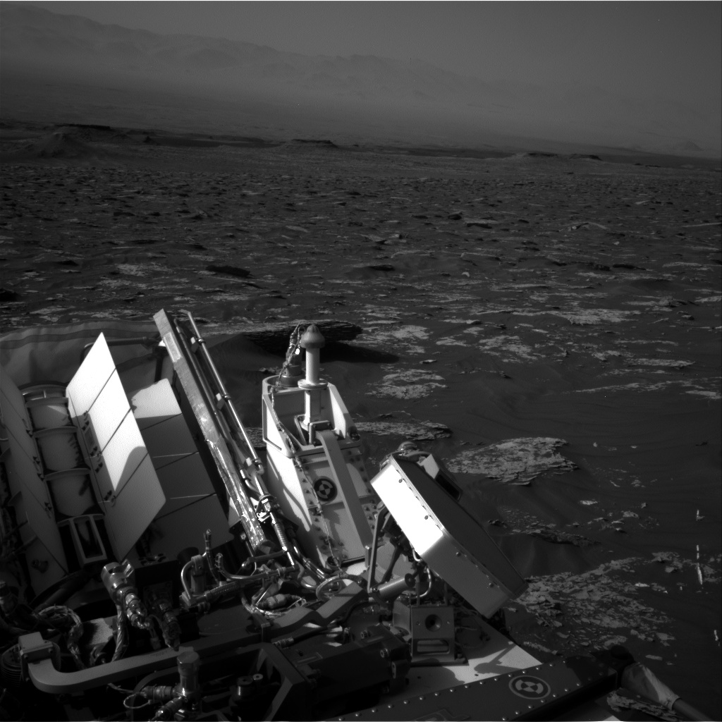 Nasa's Mars rover Curiosity acquired this image using its Right Navigation Camera on Sol 1754, at drive 2790, site number 64