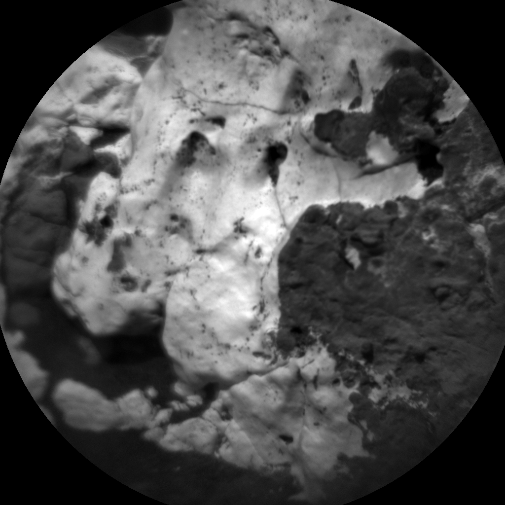 Nasa's Mars rover Curiosity acquired this image using its Chemistry & Camera (ChemCam) on Sol 1754, at drive 2442, site number 64