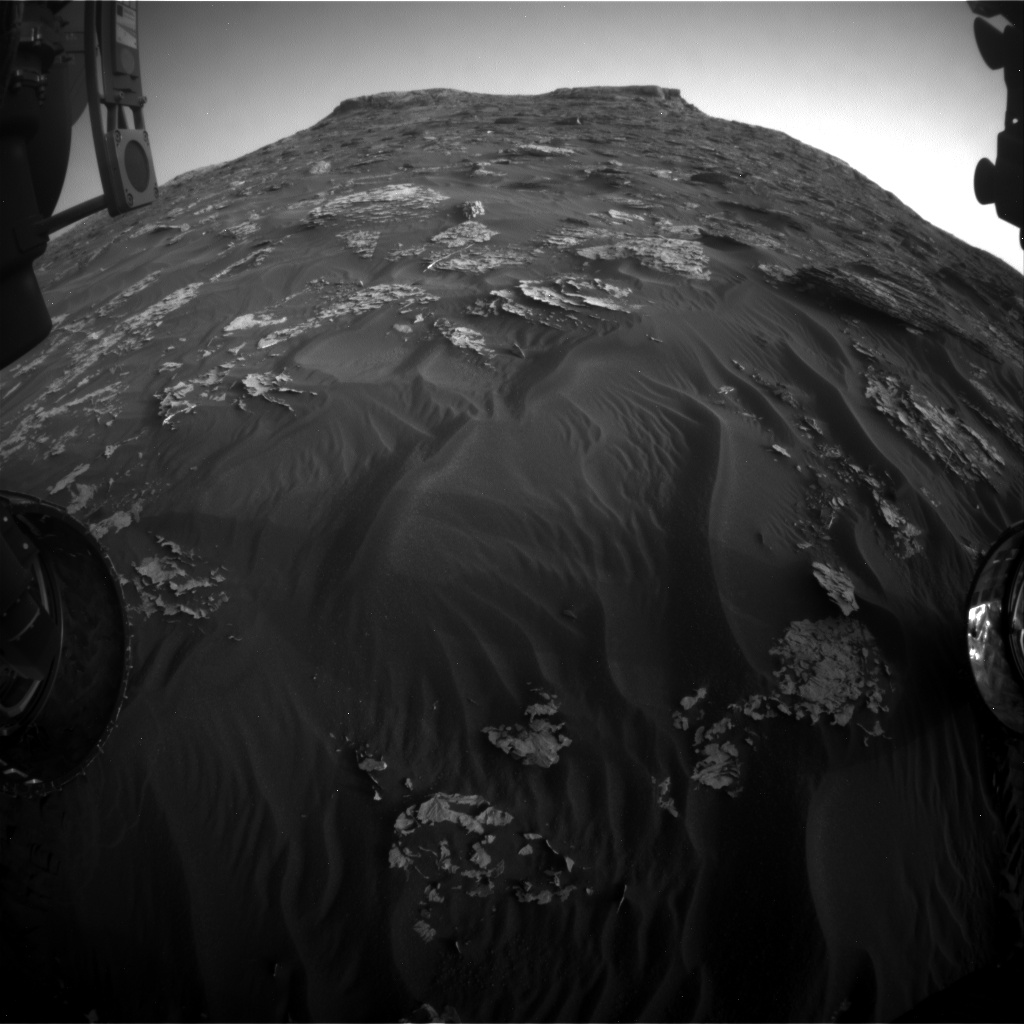 Nasa's Mars rover Curiosity acquired this image using its Front Hazard Avoidance Camera (Front Hazcam) on Sol 1765, at drive 2790, site number 64