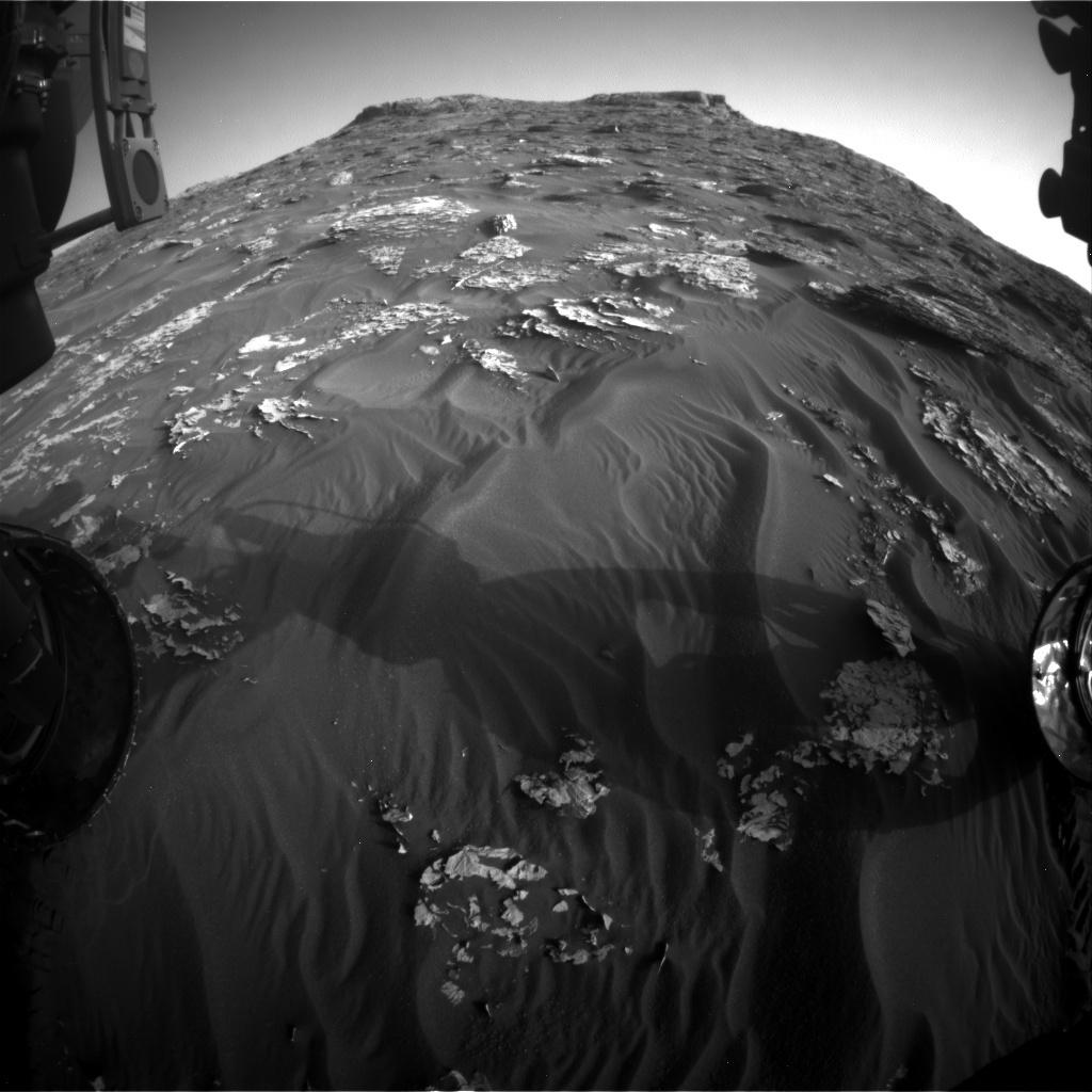 NASA's Mars rover Curiosity acquired this image using its Front Hazard Avoidance Cameras (Front Hazcams) on Sol 1771