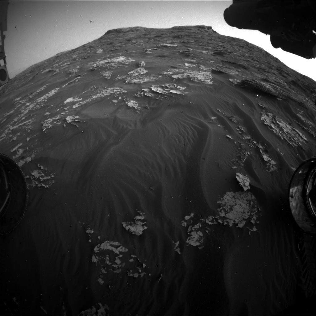 NASA's Mars rover Curiosity acquired this image using its Front Hazard Avoidance Cameras (Front Hazcams) on Sol 1780