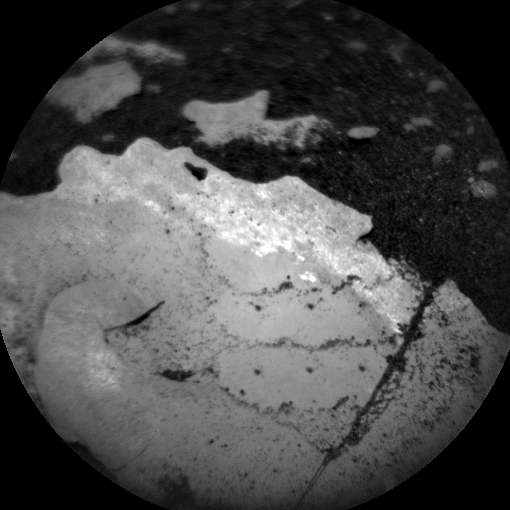 Nasa's Mars rover Curiosity acquired this image using its Chemistry & Camera (ChemCam) on Sol 1780, at drive 2790, site number 64